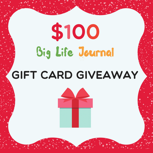 Big Life Journal Holiday Gift Guide giveaway