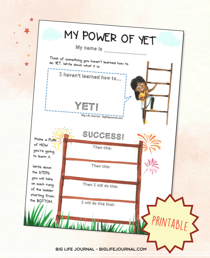 my power of yet printable