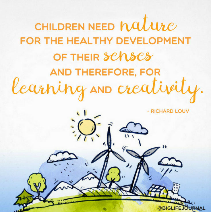 nature development learning creativity - big life journal