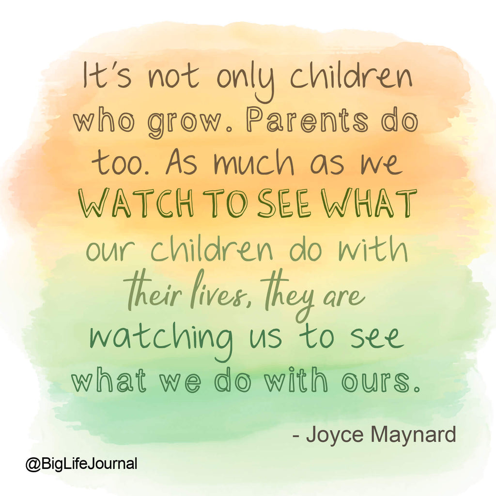 parents grow too - big life journal
