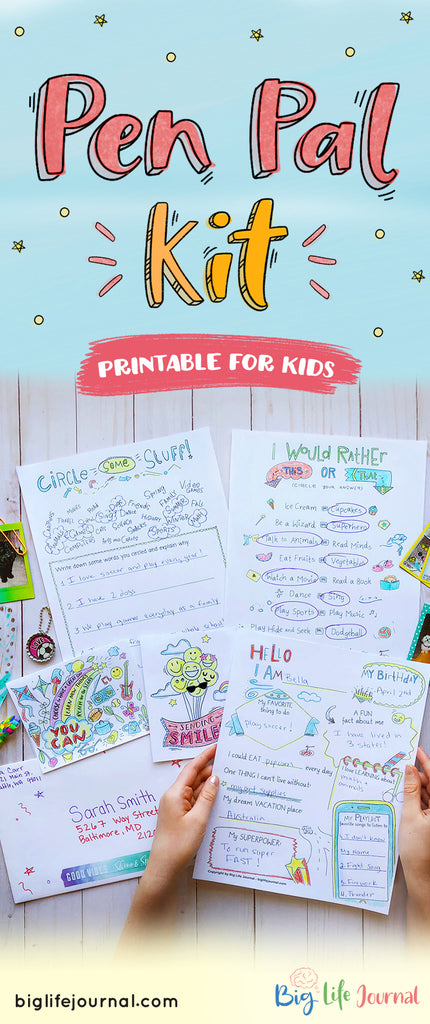Pen Pal Kit Printable