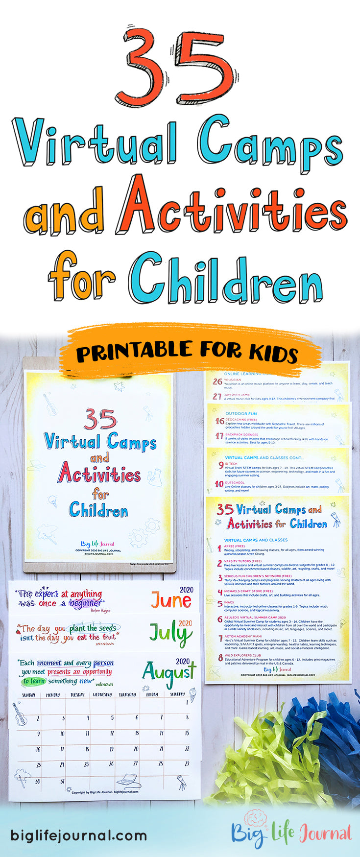 35 Virtual Camps and Activities for Children