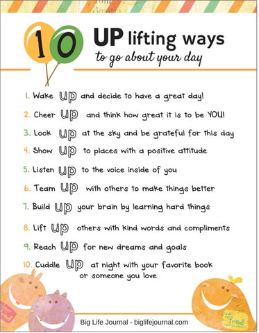 10 uplifting ways to go about your day