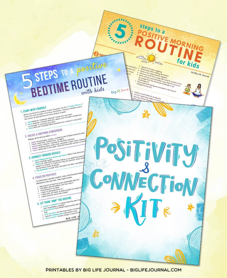 Positive Routines - Positivity & Connection kit