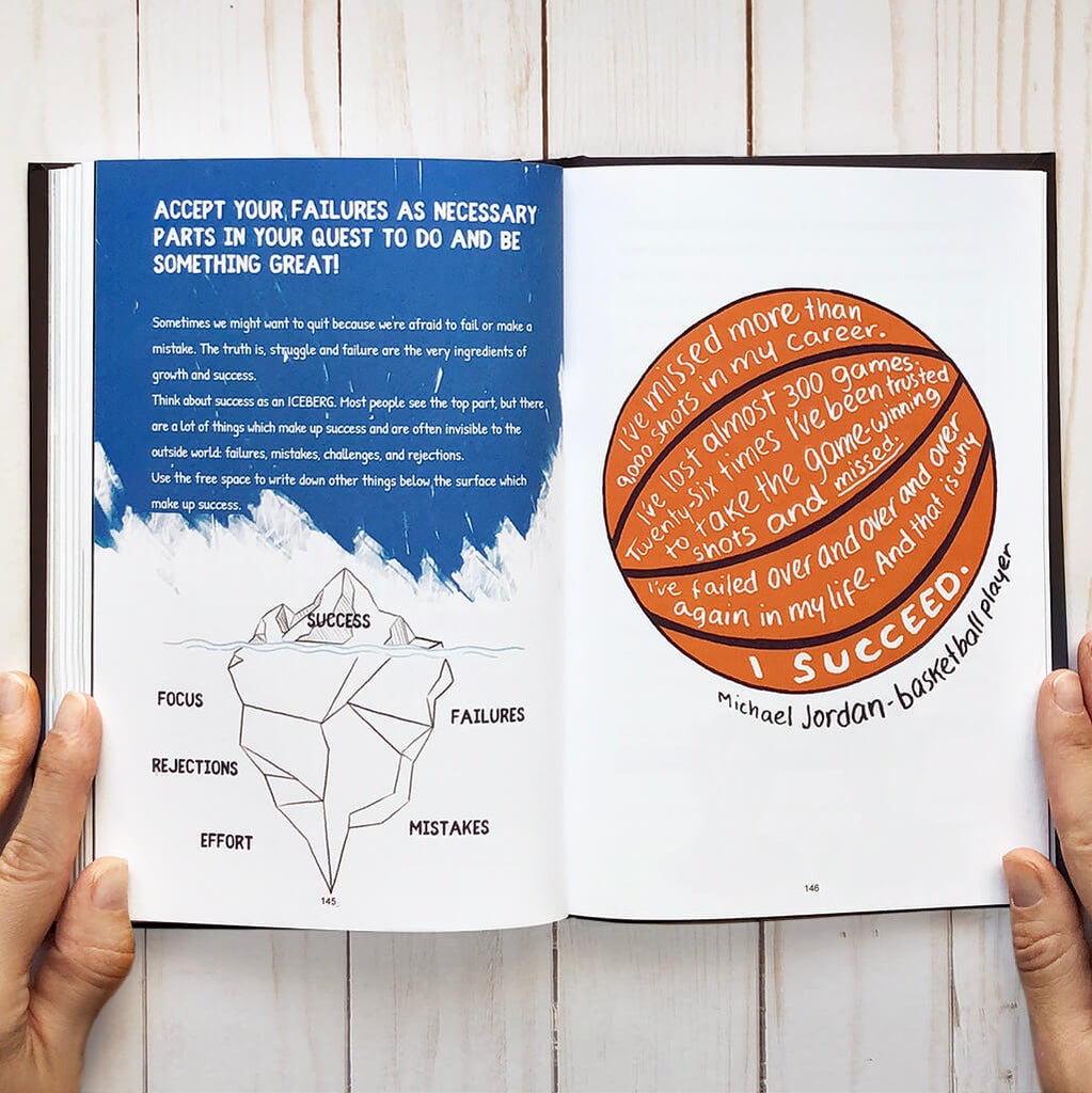 teen journal - accept failures