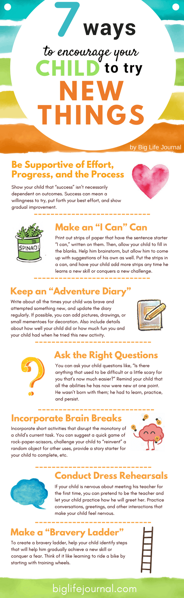Adventure Story Ideas 7 ways to encourage your child to try new things – big life