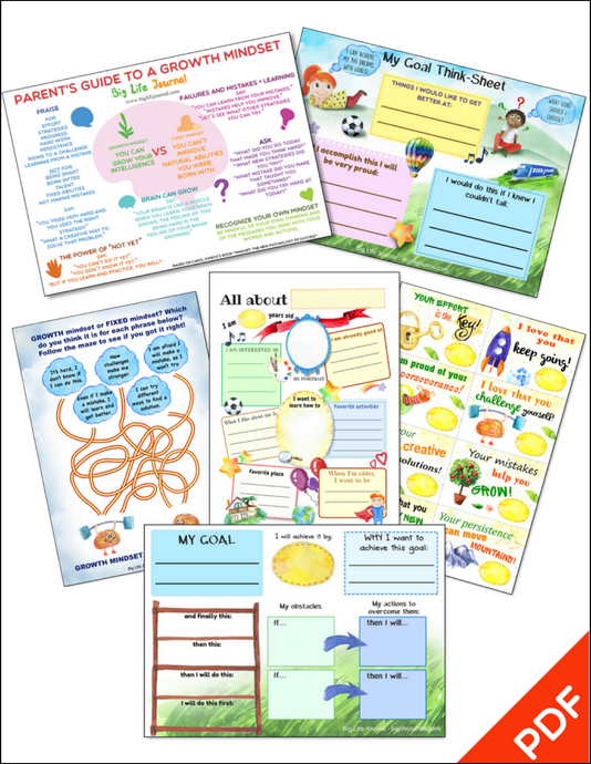Growth Mindset Printables Kit 1 (PDF)
