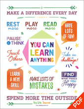 You Can Learn Anything Poster (PDF)
