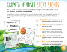 Growth Mindset Activity Kit PDF (ages 4-10)