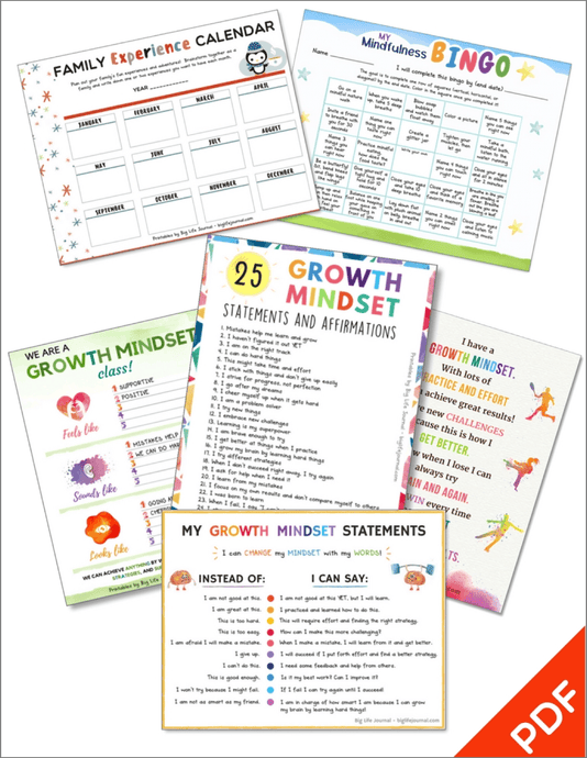 Growth Mindset Printables Kit 2 (PDF)