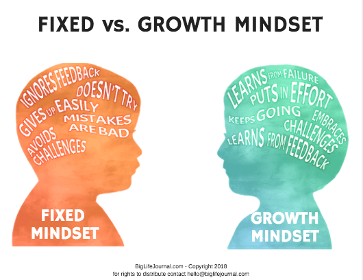 graphic relating to Printable Posters identify Mindsets Poster (PDF)
