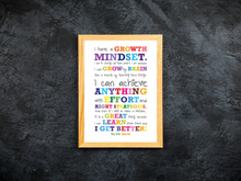 Growth Mindset Poster - Big Life Journal, a growth mindset journal for kids