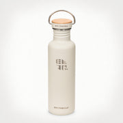 27oz (800 ml) Earthwell® Woodie™  Bottle w/ Maple Cap - Baja Sand