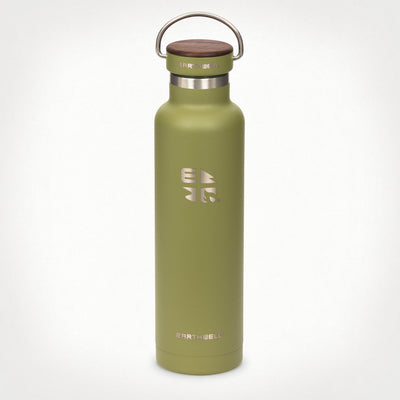 22oz (650 ml) Earthwell® Woodie™ Vacuum Bottle w/ Walnut Cap - Sequoia Pine