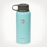 32 oz (.95L) Earthwell® Kewler™ Wide Mouth Vacuum Insulated Bottle - Aqua Blue