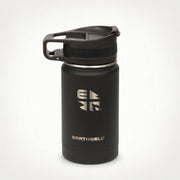 12oz (355 ml) Earthwell® Roaster™ Loop Vacuum Insulated Bottle - Volcanic Black