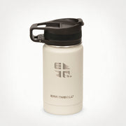 12oz (355 ml) Earthwell® Roaster™ Loop Vacuum Insulated Bottle - Baja Sand