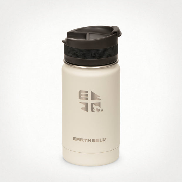 12oz (355 ml) Earthwell® Roaster™ Vacuum Insulated Bottle - Baja Sand