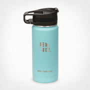 16oz (473 ml) Earthwell® Roaster™ Loop Vacuum Insulated Bottle - Aqua Blue