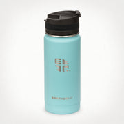 16oz (473 ml) Earthwell® Roaster™ Vacuum Insulated Bottle - Aqua Blue