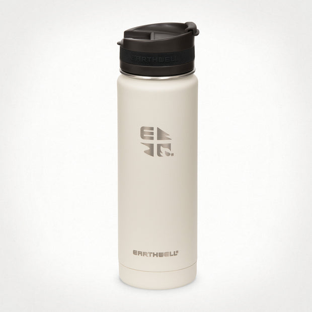 20oz (592 ml) Earthwell® Roaster™ Vacuum Insulated Bottle - Baja Sand