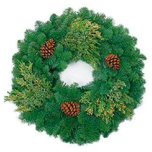 Mixed Noble Wreath 34""