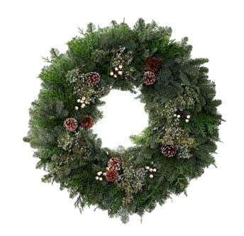 Winter White Wreath 26