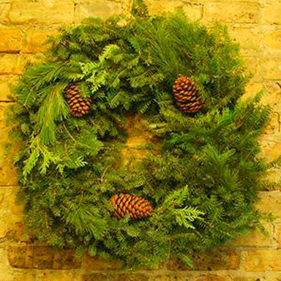 Balsam Mixed Wreath 24