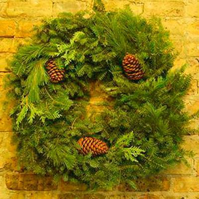 Balsam Mixed Wreath 36