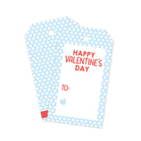 Blue Polka Dot Gift Tags