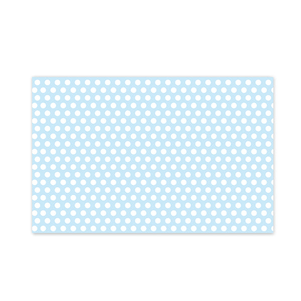 Blue Polka Dot Party Placemat