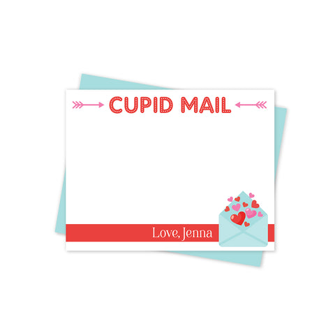 Cupid Mail Valentines Day Stationery