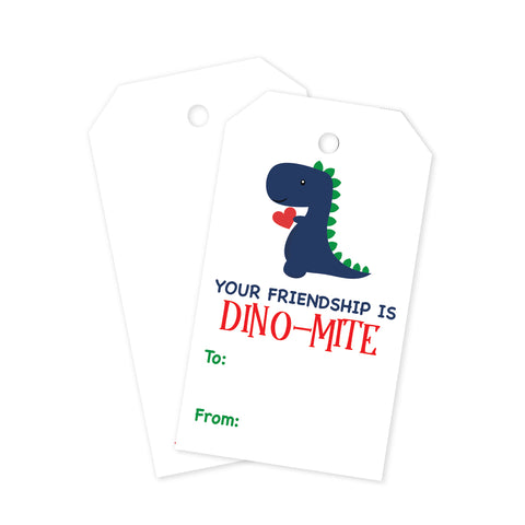 Dino Mite Gift Tags