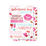 Galentines Day Party Invitation