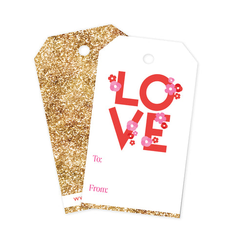 Love & Glitter Gift Tags