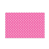 Pink Polka Dot Party Placemat