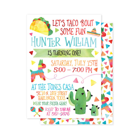 Taco 'Bout a Party Invitation