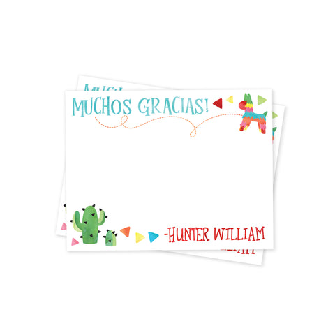 Taco 'Bout a Party Thank You Notes