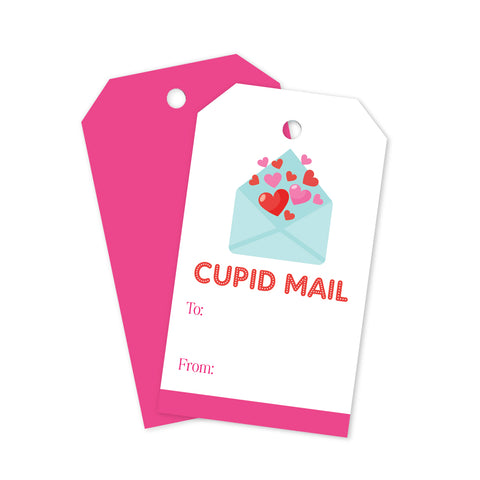 Cupid Mail Gift Tags