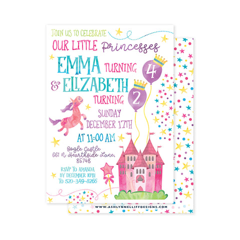 Fairytale Party Invitation