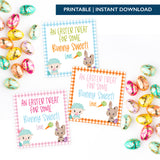 *BUNDLE* Printable (Instant Download) Blue, Orange & Pink From Some Bunny Sweet Gift Tags