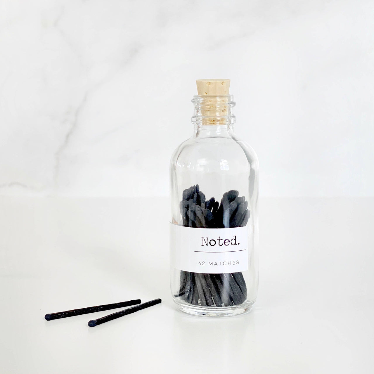 Match Bottle - All Black