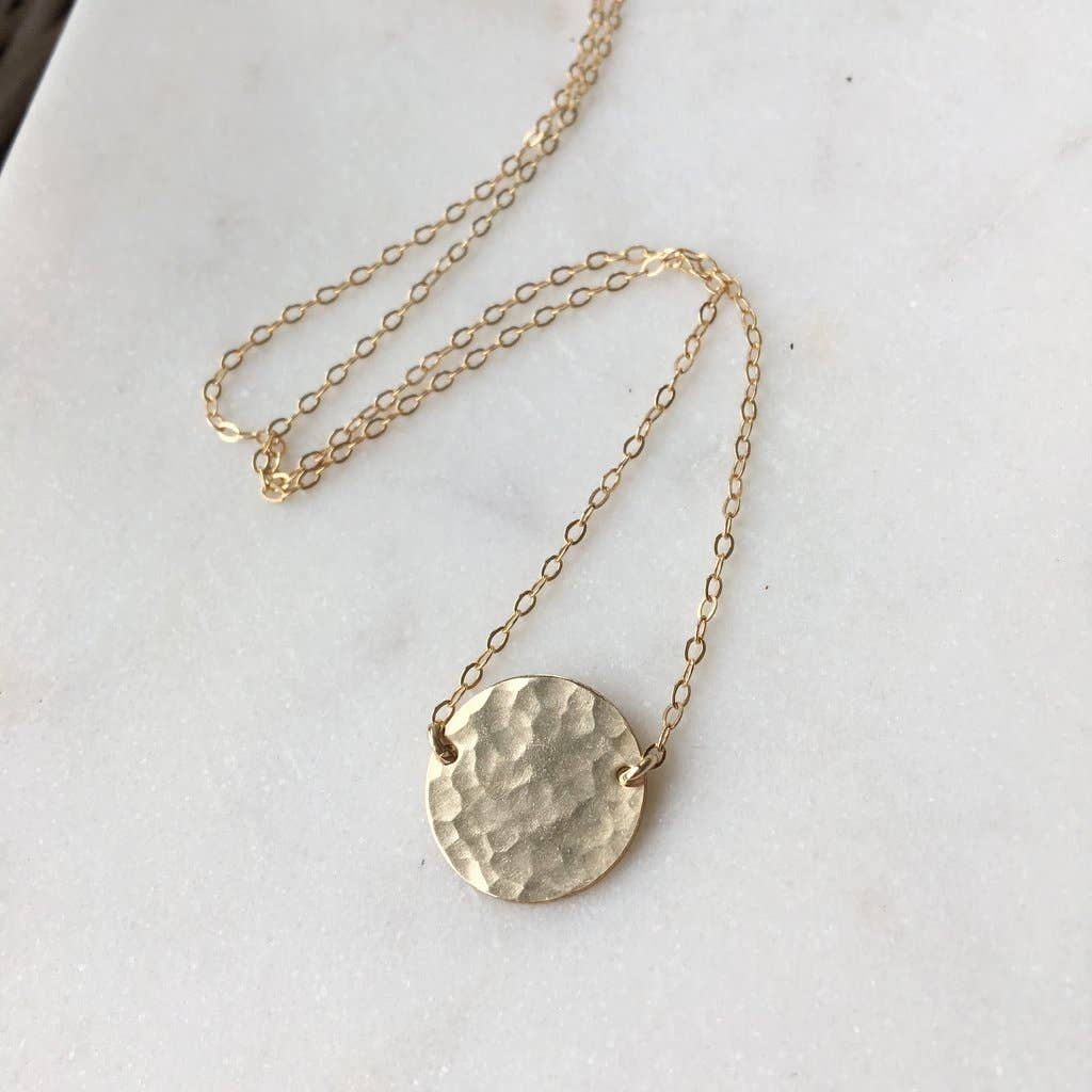 Token Jewelry - Full Moon Necklace
