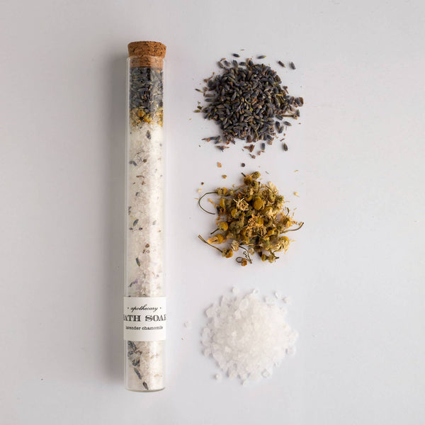 Nectar Republic - Lavender Chamomile : Bath Soak Test Tube