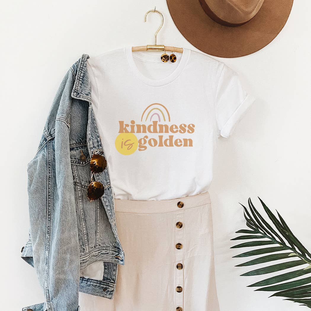 Kindness is Golden Graphic T-Shirt