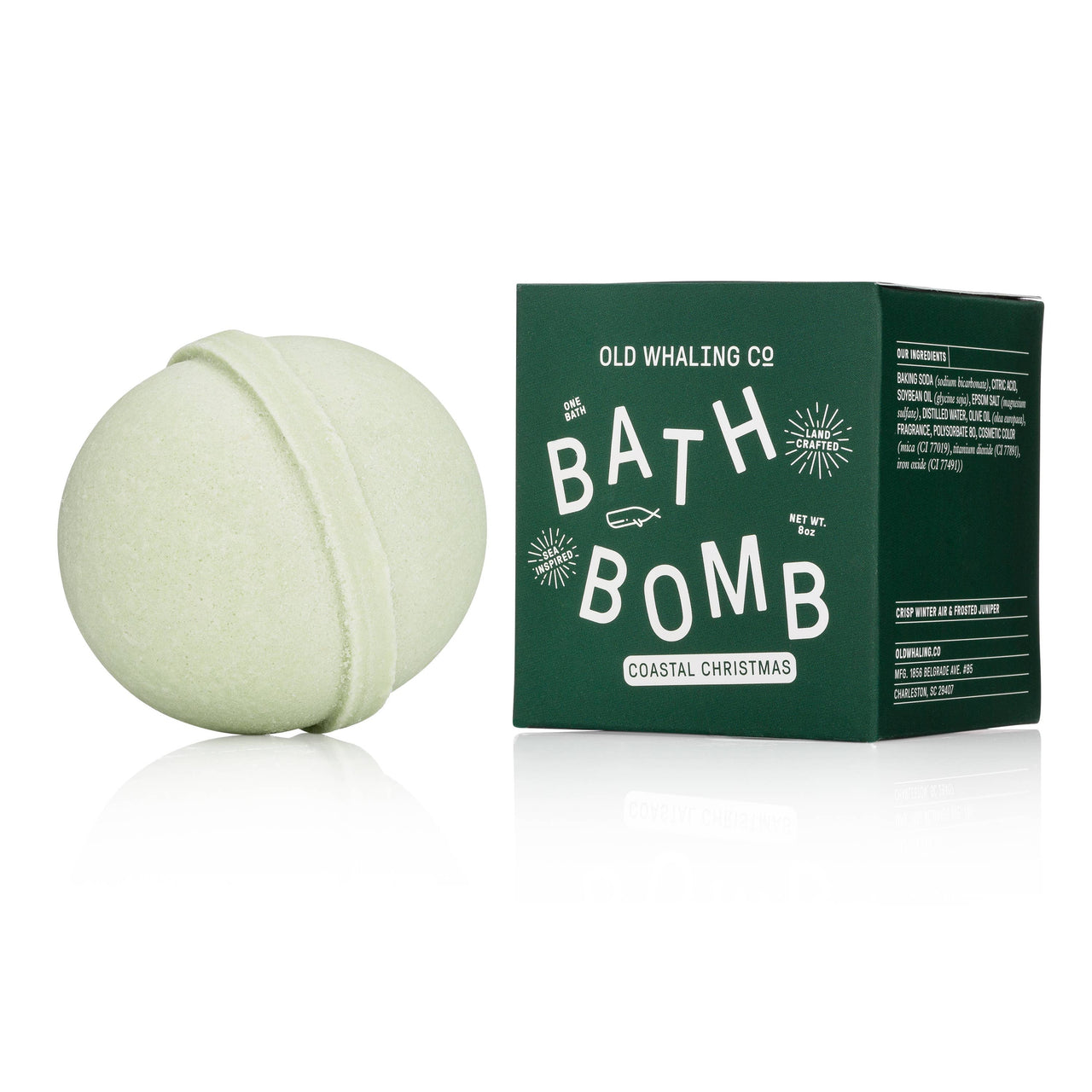 Old Whaling Company - Coastal Christmas Bath Bomb