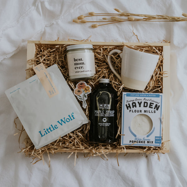 Breakfast in Bed Mother's Day Gift Crate