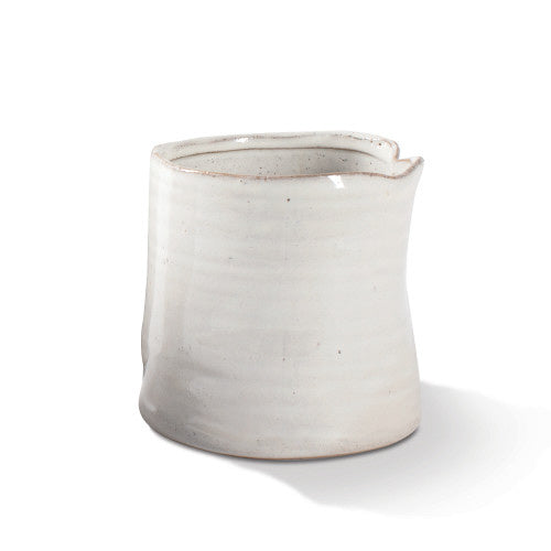 White Pinched Vessel