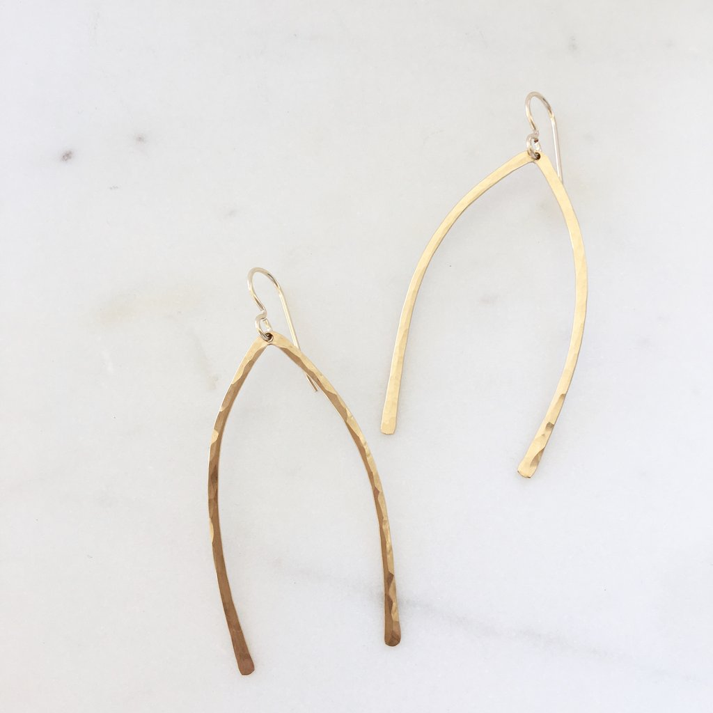 Wishbones Earrings