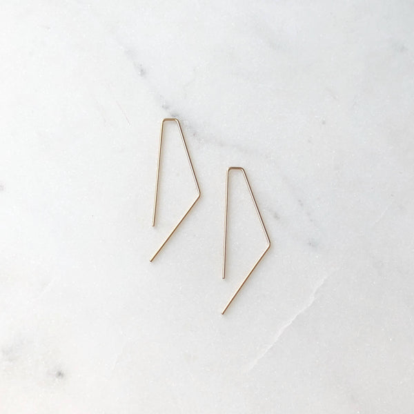 Bent Slides Earrings